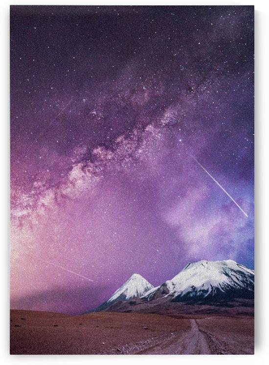 Milky Way Over The Volcano by Okan28