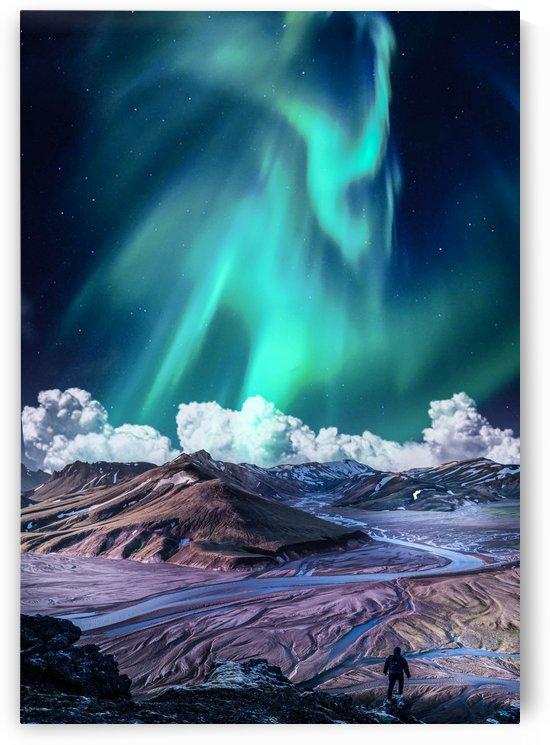 Aurora Polaris Over The Nature by Okan28