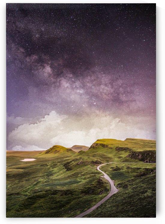 Purple Milky Way And The Sunshine by Okan28