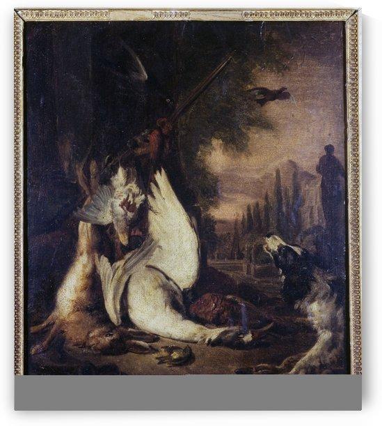Gibier mort by Adriaen de Gryef