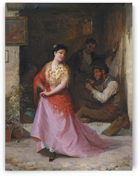 Tanzchen by Eugene de Blaas
