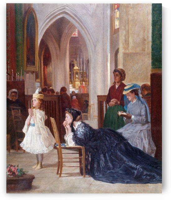 La priere by Auguste Dutuit