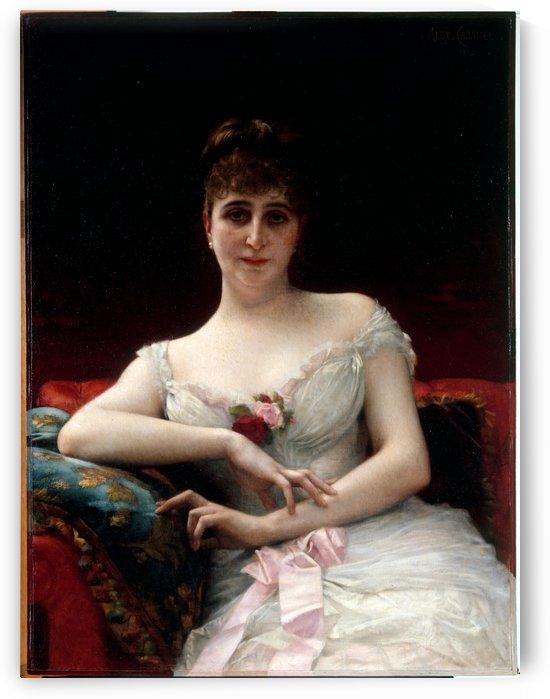 Portrait de Madame Edouard Herve by Alexandre Cabanel