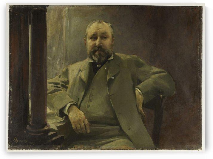 Portrait de Francis Magnard by Albert Besnard