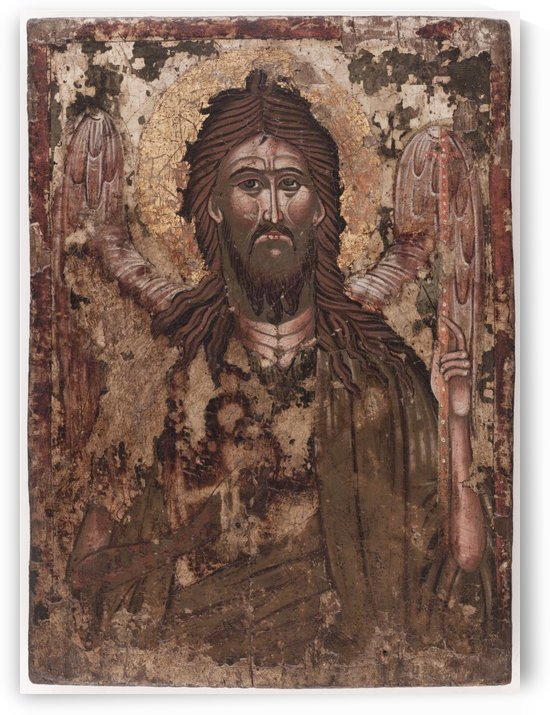 Saint Jean Baptiste by Ecole de Serbie