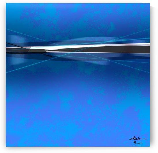 Zest & Zen in Cobalt 1x1 by Veratis Editions