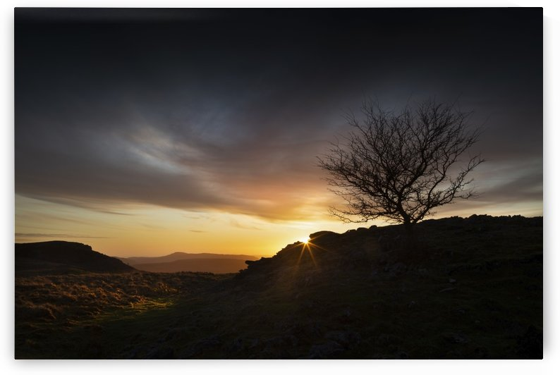 Brecon Beacons sunset by Leighton Collins