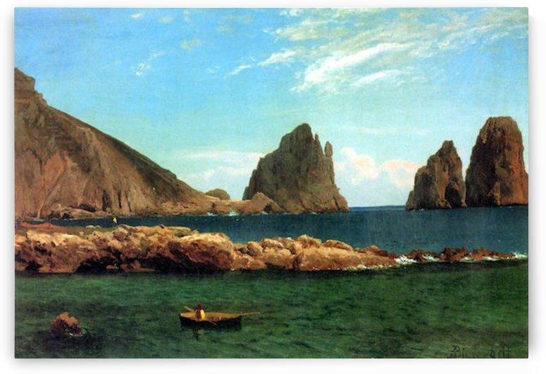 Capri by Bierstadt by Bierstadt