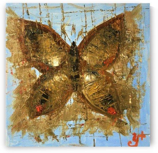 Butterfly In Silence by ANASTASIIA NAUMENKO