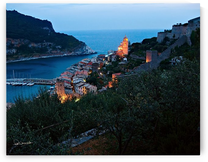 Portovenere Twilight by Shadow and Form