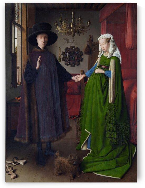 Jan van Eyck: Arnolfini Portrait HD 300ppi by Stock Photography
