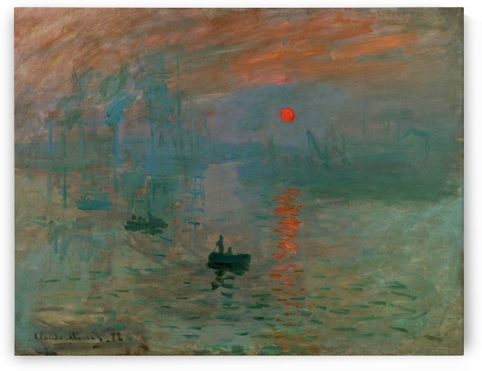 Claude Monet: Impression Sunrise HD 300ppi by Stock Photography