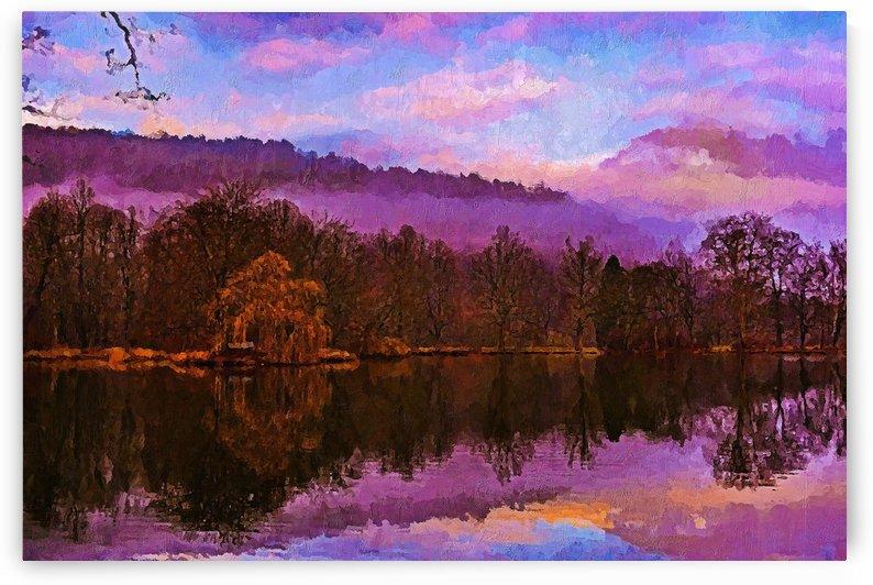 Purple by canvasfine