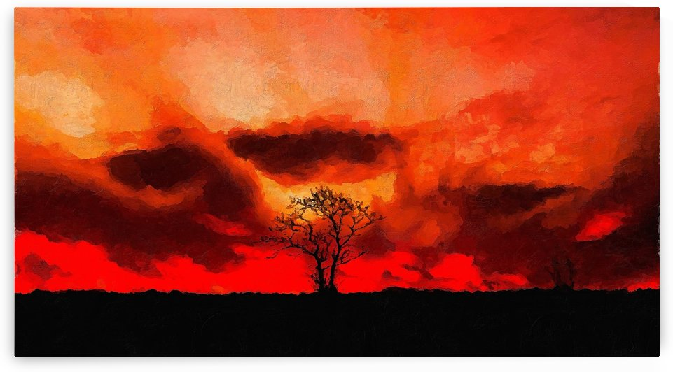 My Burning California by canvasfine