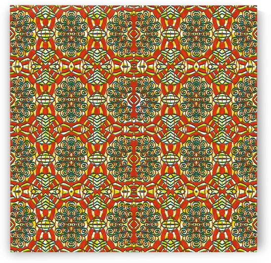 Patterned Print by Slate & Linen