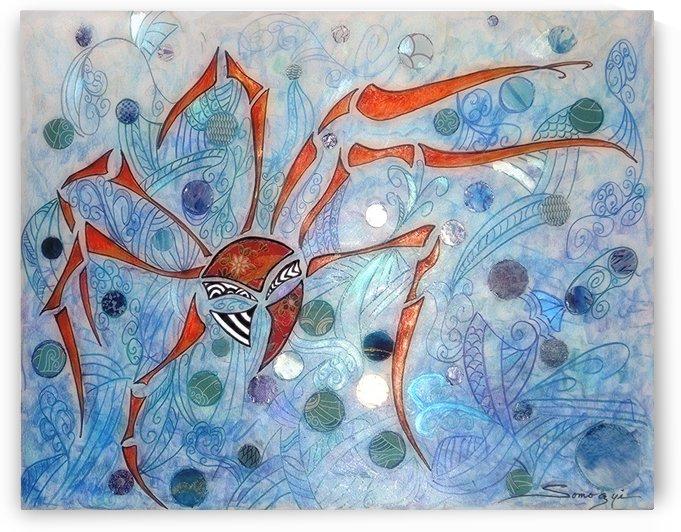 Samurai Crab by Jayne Somogy