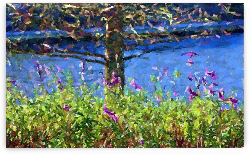 Waterside Landscape by Ellen Barron O-Reilly