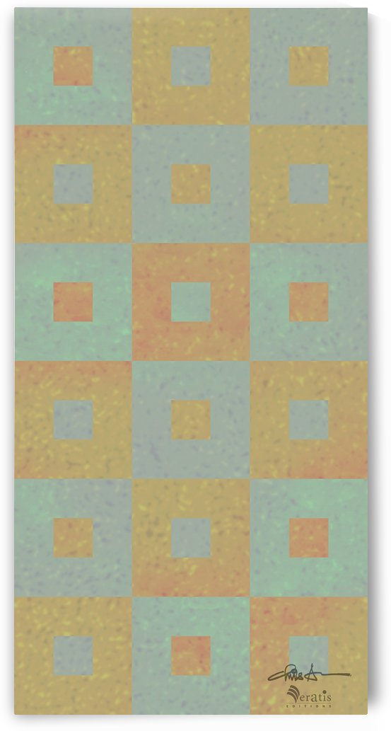 Range & Rank in Mint & Amber 1x2 by Veratis Editions