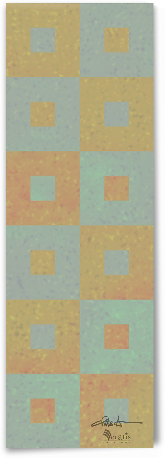 Range & Rank in Mint & Amber 1x3 by Veratis Editions