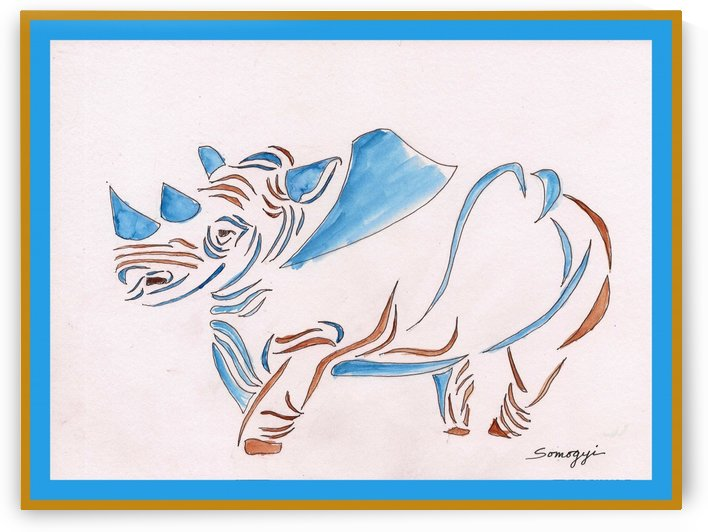 Do Rhinos Come in Blue by Jayne Somogy