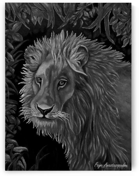Lion Sketch by Faye Anastasopoulou
