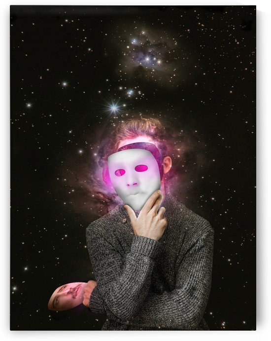 Covering my inner self by Rafael Ramirez