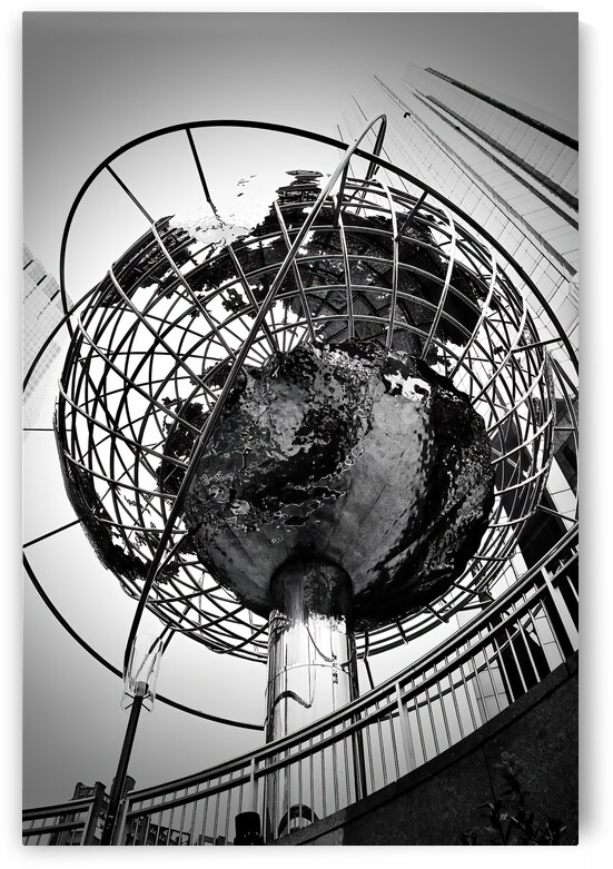 The Globe ... NYC by Fred J Bivetto