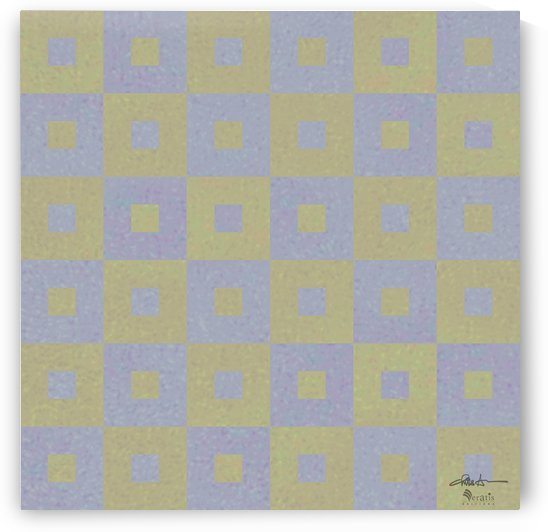 Range & Rank in Olive & Amethyst 1x1 by Veratis Editions