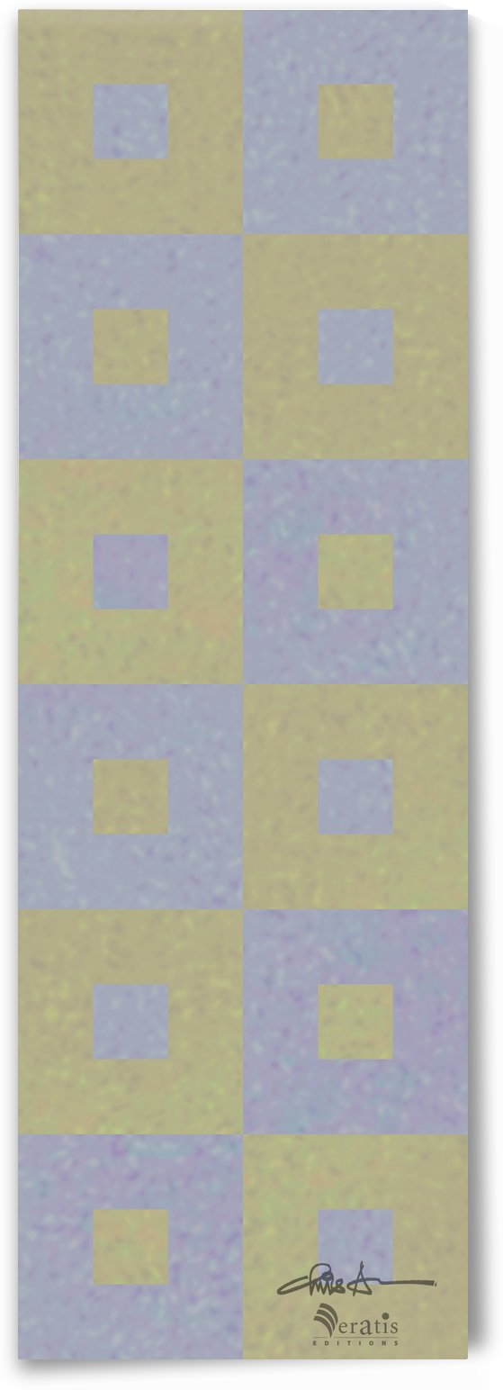Range & Rank in Olive & Amethyst 1x3 by Veratis Editions