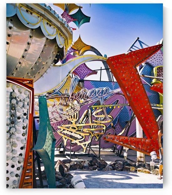 Silver Pot In Las Vegas by Jarmila Kostliva Studio