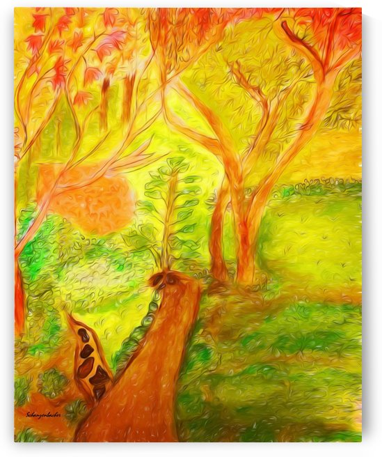 Could it be yellower  by Aurelia Schanzenbacher Sisters Fine Arts