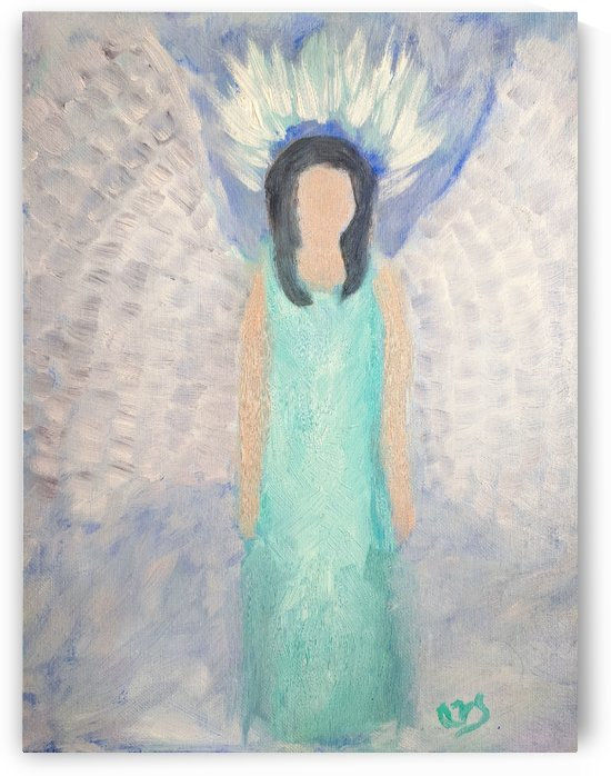 Belonging to the Angels by Aurelia Schanzenbacher Sisters Fine Arts