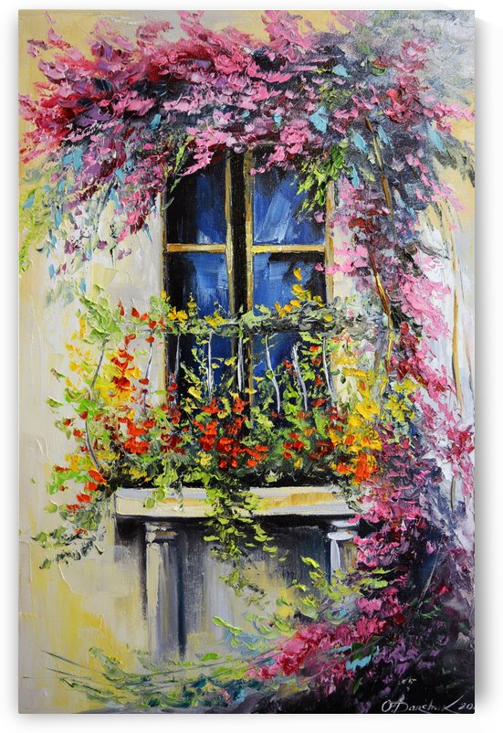 Blooming balcony by Olha Darchuk