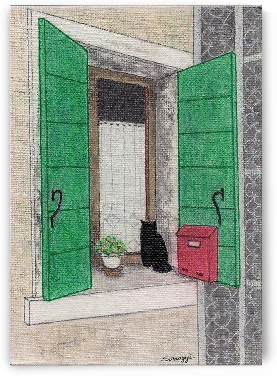 Kitty Korner by Jayne Somogy