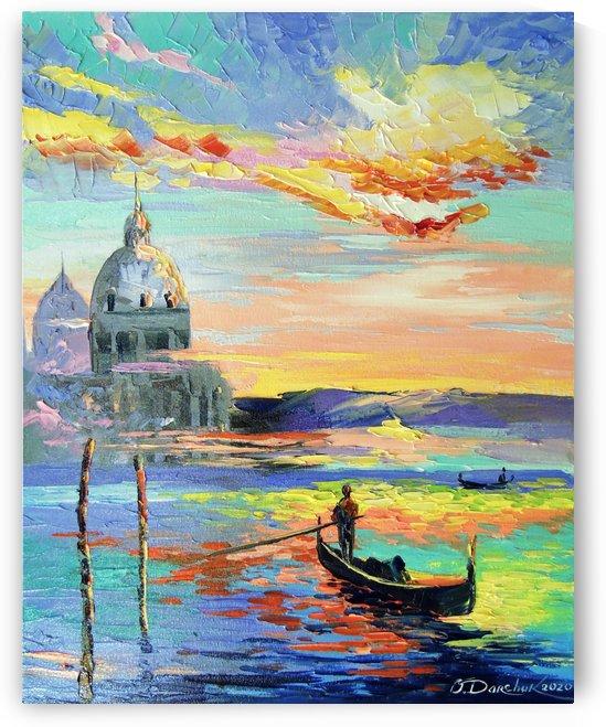 Venice and gondolas by Olha Darchuk