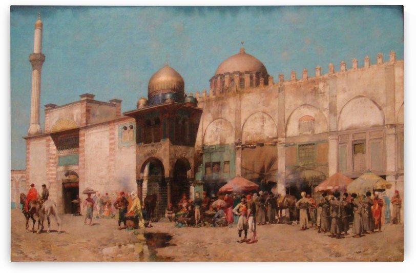 Mosque by Alberto Pasini