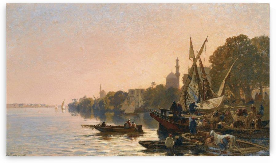 Oriental shipyard by Alberto Pasini