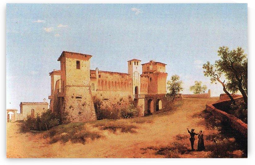 Castello di Felino by Alberto Pasini