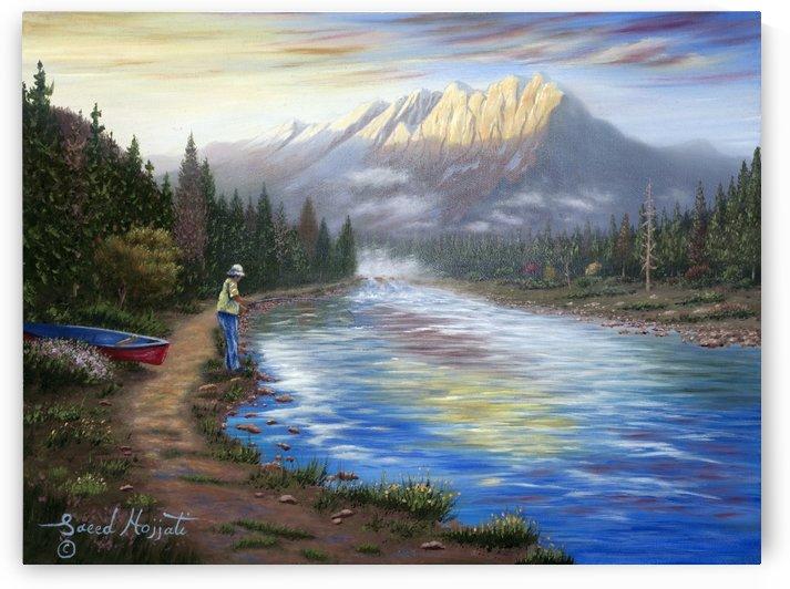 The Fisherman II by Saeed Hojjati