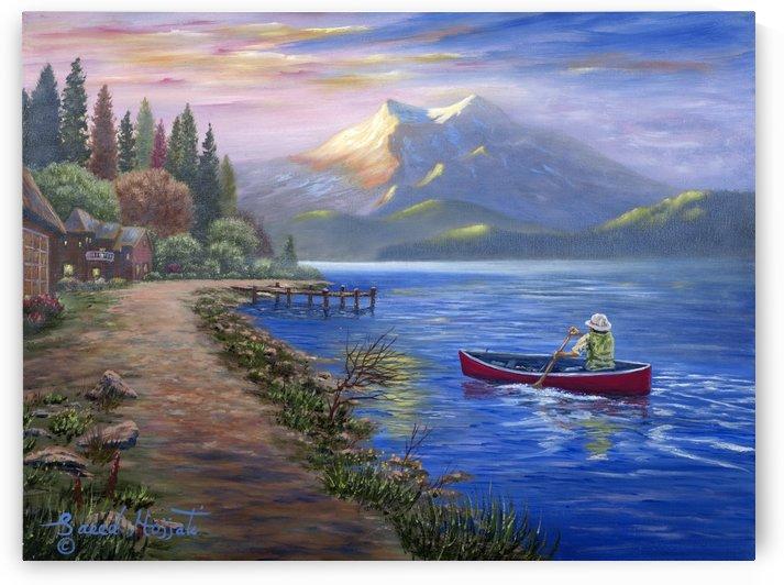The Fisherman IV by Saeed Hojjati