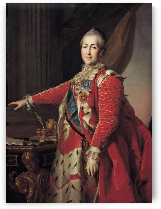 Portrait of Catherine II by Dmitry Levitzky