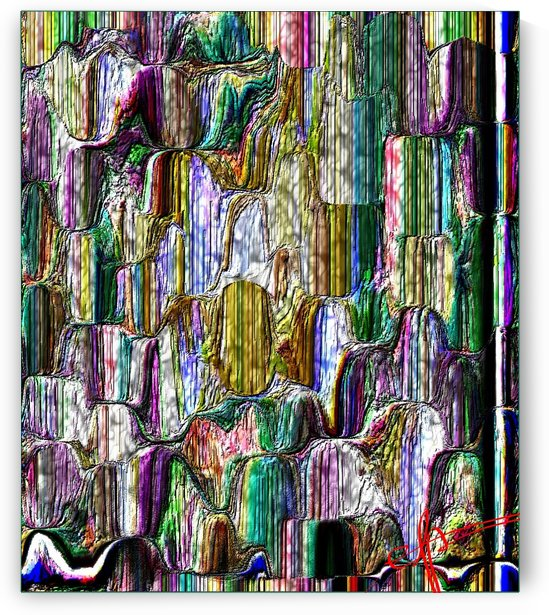 Stained Glass Mistake Reservoir by Ed Purchla