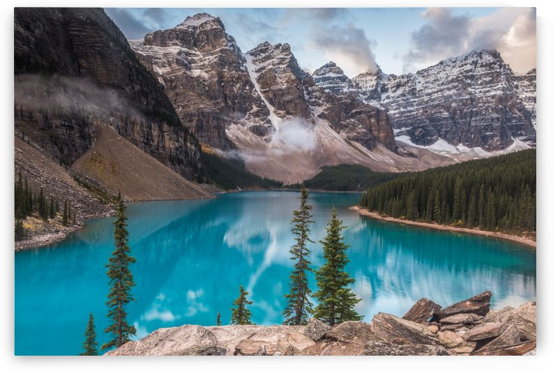 Moraine Lake Canada by Bob Kofman