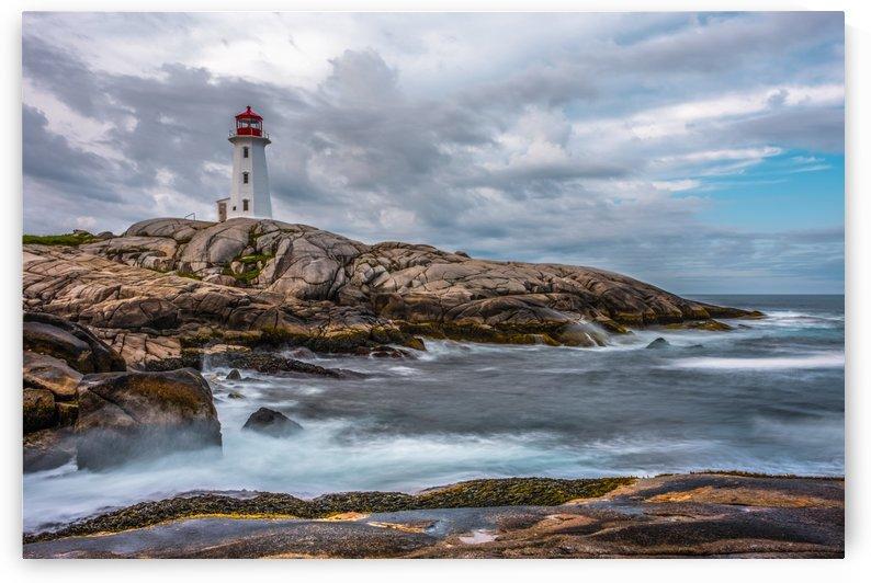 Peggys Cove Lighthouse  by Bob Kofman