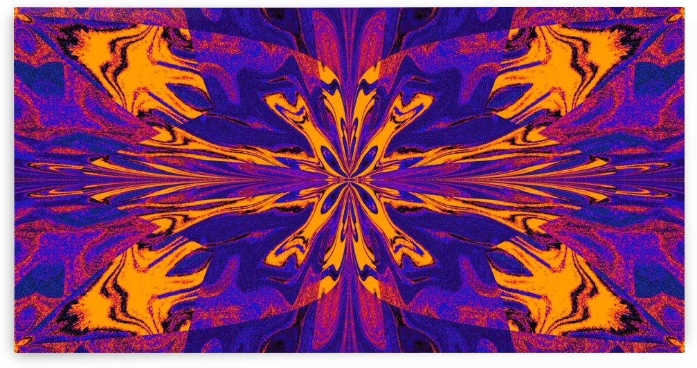 Abstract Butterfly 9 by Sherrie Larch