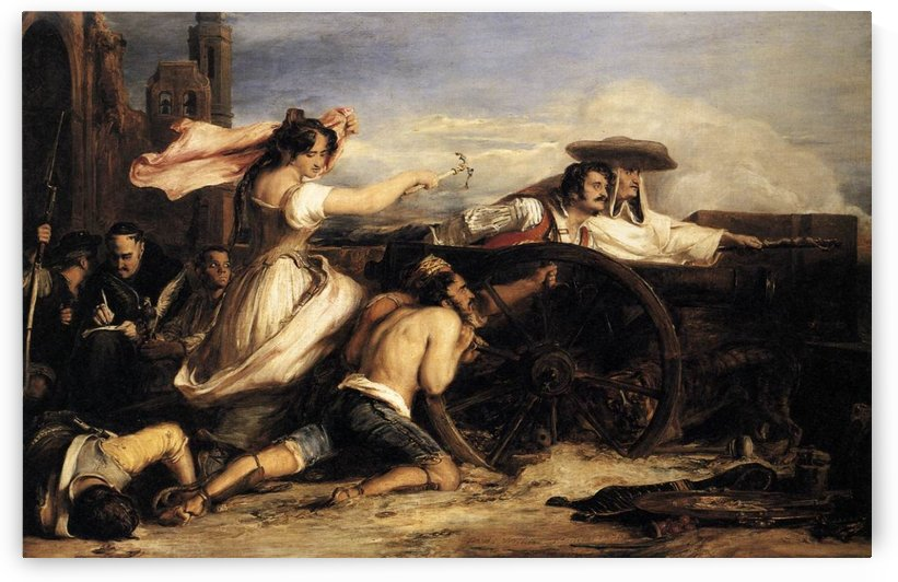 The Defence of Saragoca by David Wilkie