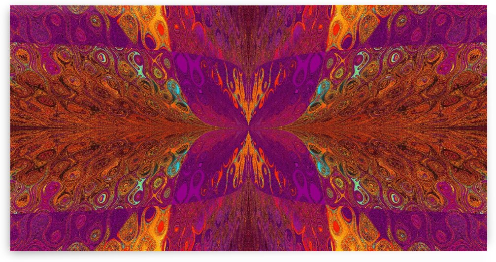 Butterfly in Crystal 4 by Sherrie Larch