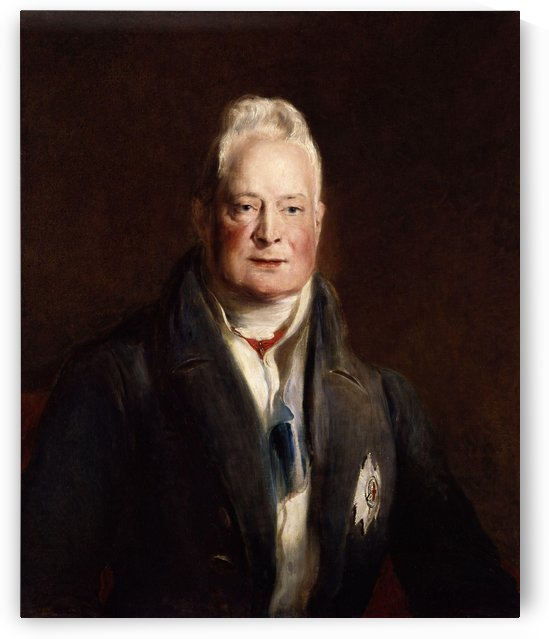 Portrait of King William IV by David Wilkie