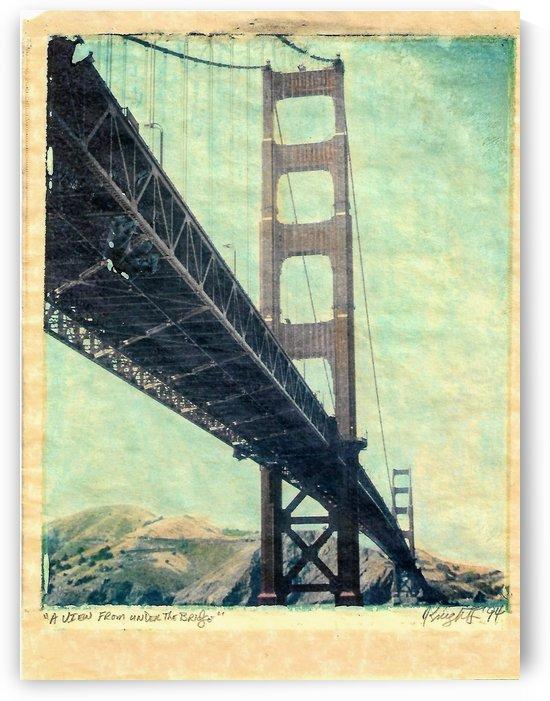 a view from under the bridge by Jon Knight Loruenser