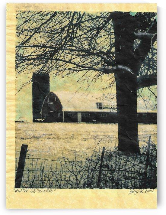 winter silhouettes by Jon Knight Loruenser
